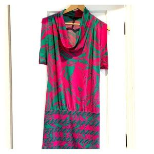BCBG Tropical Mini Dress